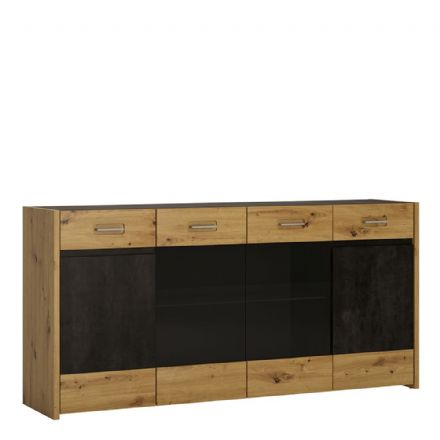 Sideboard - 4 Doors 2 Drawers